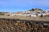 View of Mertola, Alentejo, Portugal