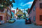 Wethgasse in Dinkelsbühl, Bayern, Deutschland
