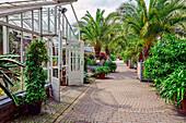 Botanischer Garten in Münster, Nordrhein-Westfalen, Deutschland
