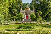 Moorish kiosk in the park of Linderhof Palace, Ettal, Bavaria, Germany