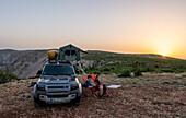 Croatia, Zrmanja, Winnetou, roof tent,