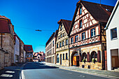 Bambergerstrasse in Forchheim, Bavaria, Germany