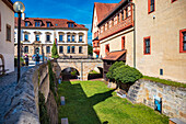 Imperial Palace with Palatinate Museum in Forchheim, Bavaria, Germany