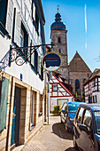 Kapellenstraße in Forchheim, Bayern, Deutschland