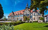 Herder Gymnasium in Forchheim, Bavaria, Germany