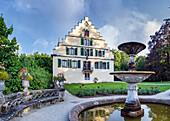 Schloss Rosenau in Rödental, Oberfranken, Bayern, Deutschland