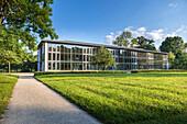 Europäisches Museum für Modernes Glas in Rosebau bei Rödental, Oberfranken, Bayern, Deutschland