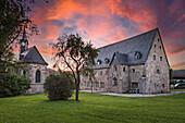 Christuskirche und Kloster in Rödental, Oberfranken, Bayern, Deutschland