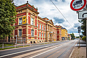 Postbank building in Gotha, Thuringia, Germany
