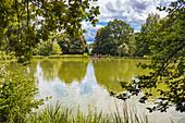 Schlosspark in Gotha, Thüringen, Deutschland