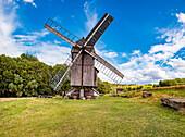 Windmühle Ballstädt bei Gotha, Thüringen, Deutschland
