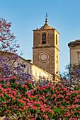 Iglesia de Santiago Apostol, Malaga, Costa del Sol, Malaga Province, Andalusia, Spain, Europe