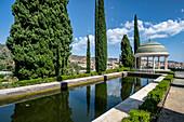Botanical Garden of Malaga, Jardín Botánico-Histórico La Concepción, Costa del Sol, Malaga Province, Andalusia, Spain, Europe