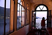 Hotel Castello in Peschiera on Monte Isola, Lake Iseo, Lombardy, Italy