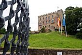 Hambach Castle near Neustadt on the Palatinate Wine Route, Rhineland-Palatinate, Germany