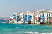 Little Venice, Mykonos Town, Mykonos, Cyclades Islands, Greece
