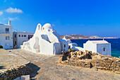 Panagia Paraportian chapel, Mykonos Town, Mykonos, Cyclades Islands, Greece