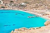 Super Paradise Beach, Mykonos, Cyclades Islands, Greece