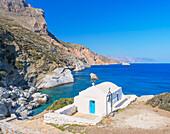 Agia Anna beach, Amorgos, Cyclades, Greece, Europe
