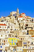 Olymbos village, Olymbos, Karpathos, Dodecanese islands, Greece