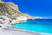 Agia Anna Beach, Amorgos, Cyclades Islands, Greece, Europe
