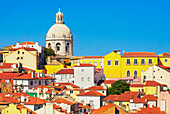 Alfama District view, Lisbon, Portugal