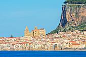 Cefafu town, Cefalu, Sicily, Italy,