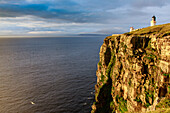 Dunnet Head Lighthouse, Caithness, Scotland's northernmost point, UK