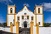 The Igreja Matriz de Santa Cruz church is a fine example of a rural place of worship in the Azores
