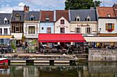 Quartier Saint Leu on the Somme, Amiens, France