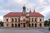Old market with town hall, Magdeburg, Saxony-Anhalt, Germany