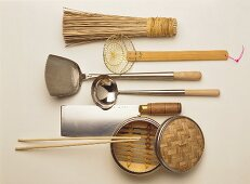 Asian kitchen utensils