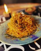 Carrot salad with orange juice & orange water (Morocco)