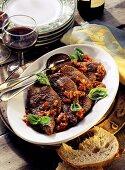 Bistecca alla pizzaiola (Beef steaks with tomato sauce)