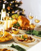 Roast Turkey with Potato