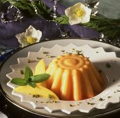 Mango jelly with Campari