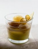 Apple and chestnut confit