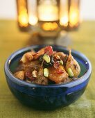 Moroccan lamb ragout with fruit