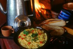 Quirera de milho (savoury corn porridge, Brazil)