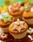 Cinnamon star muffins