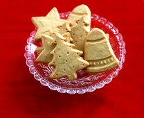 Christmassy butter biscuits