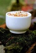 Sweet chestnut soufflé