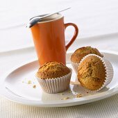 Muffins with whisky cream liqueur