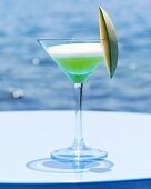 'Le Vert' (Gin with melon- and peach liqueur)