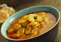 Rangoon na vaal (spicy bean dish, India)