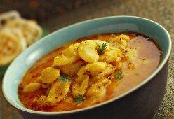 Rangoon na vaal (spicy bean dish, India)
