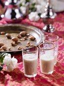 Middle Eastern yoghurt drinks