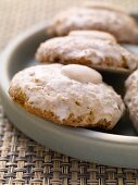 Elisen lebkuchen with marzipan and rum