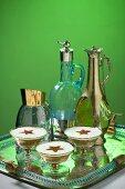 Brandy Alexander (cocktail with brandy, creme de cacao and cream)