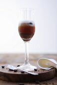 A coffee cocktail